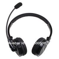 Nosie Canceling Bluetooth Headset Wireless Handsfree Headphone for PC PS3 Skype Cellphone for iPhone 4S and other Free shipping