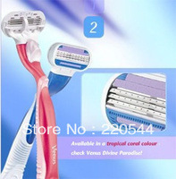 2013 hot selling  razor with 6pcs tool bit + 1 pc knife rest for Women Free Shipping