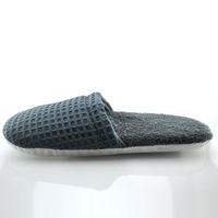 Free Shipping/Home Slippers/Waffle cotton slippers Thick Bottom Anti-Slip Slippers,Weight:100G,high quality/K004