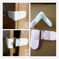 20pcs/lot Baby Security Multifunctional Safety Lock/ Right Angle Corner Baby Cabinet Door Drawer Locks Protection