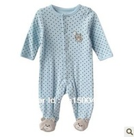 Foreign trade children Little Me cotton baby long-sleeved cotton  Footies