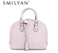 Free shipping! Smilyan 2014 new fashion medium PU leather shell handbags casual shoulder cross-body bags women messenger bags
