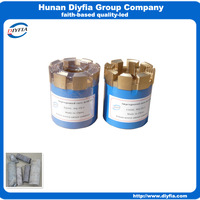 NQ impregnated diamond core drill bit