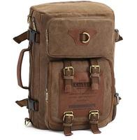 2014 New Fashion Casual Mens Canvas Backpack wholesale, Men's Travel Bags IF 228+ free shipping mochila de lona