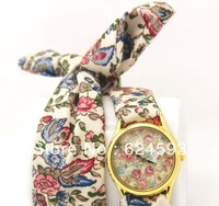 South Korea han edition floral chiffon sweet girls watch fashion watches