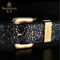 2014 Manbang Brand Blets Genuine cowskin Leather High Quality strap for Men Fashion Designer belts free shipping 0028JZ