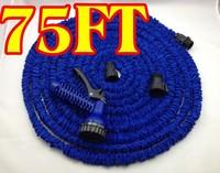 1pcs/lot  75FT Garden water Hose flexible hose Garden hose+ Spary Gun