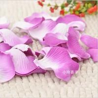 Party Decoration 1440pcs /lot Silk Rose Petals Wedding Flowers Decor Light Purple Color Beautiful Wedding Petals Flower