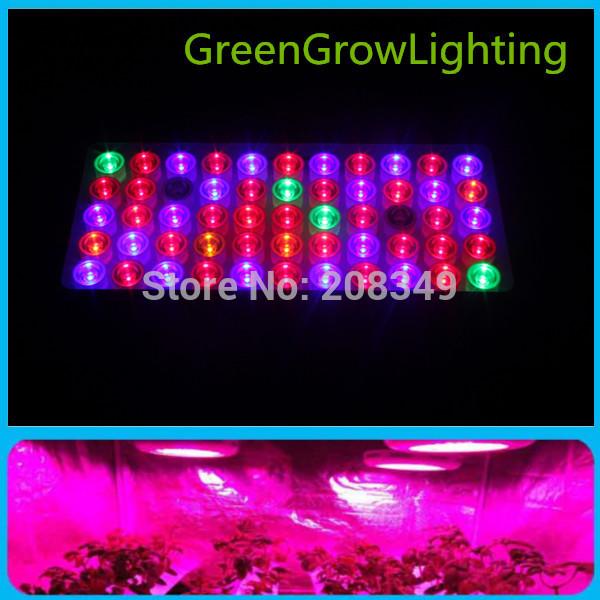 Освещение для растений GreenGrowLighting 120W 55 * 3w = 165W 9Bands  GG-165W минипечь gefest пгэ 120 пгэ 120