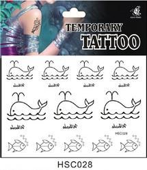 Временная татуировка 028 HSC028 178 купить временная регистрация через уфмс