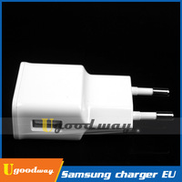 Original Samsung EU Charger + USB Cable 2A Wall Charger For Galaxy S4 I9500 Galaxy S3 I9300 In Stock! Hot Selling