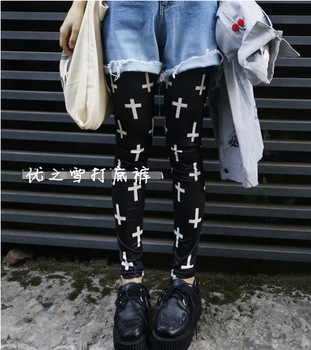 2014 New Fashion BLACK Leggings for Women The Cross fitness winter warm knit Leggings Black MIlk Leggings Plus Size Pants LG-24