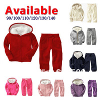 Retail 1piece New! brand baby children's clothing Hoodies coat +pants 2pcs set girls boys kids sport suit autumn winter clothes