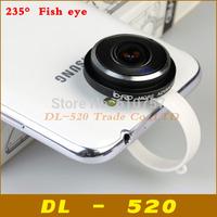 Fisheye lens 235 Degree Clip Super Fish eye lens for iPhone 4s 5s 6 plus Samsung S4 S5 Note4 for SONY Z2,1 pcs Mobile phone lens