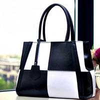 Top Quality 100% Genuine Leather Bag New 2015 Women Leather Handbags Bolsas Femininas Tote Bags Women Handbag Shoulder Bags