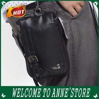 New!Fashion Male Waist Bag Cigarette men Package men Small messager bag Strape Shoulder Bag PU Leather Bag /Free Shipping