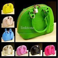 2014 new famous brand women leather handbags child girls messenger bags cute totes purses woman shoulder bag wallets AXB00010