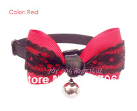 Bling and Cute Pet Dog Bow Ties with Bell,Lovely Dog Accessories