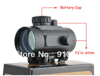 Tactical 1x40 Red Green Dot 20mm & 11mm Rail Mount Hunting Illuminated Sight