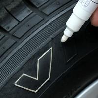 Free Shipping!+Tire cosmetic pen  mc-006 car tires pen DIY personality car fetal pen strokes  cool white X1