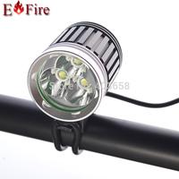 HOT Sell 3800 Lumen 3x CREE XM-L T6 LED Bicycle Light LED Light Headlight Headlamp  Camp