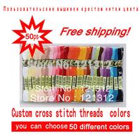 Free shipping! Wholesale similar DMC threads,Cotton thread, cross stitch embroidery thread, cross stitch / Knitting Spiraea