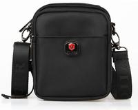 Canvas Black Men Messenger Bags Travel Crossbody Shoulder Bag Men's Waist Bags Fanny Packs Waist Pack Belt Loops Waterproof