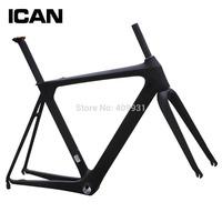 2014 700c carbon road frame aerodynamic road bike di2 bb86 compatiable carbon frame adjusted seat post bicycle frame AERO007