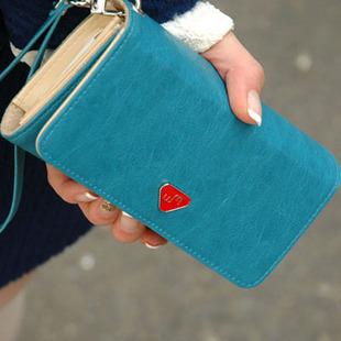 TOP Quality PU Leather wallet /Smart phone bag case for LG G3 Beat Nexus 4 E975 Optimus L7/L9 Nexus 5 Vu 2 L60