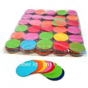 Round tissue confetti,wedding paper confetti,Color confetti(China (Mainland))