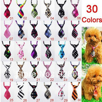 DHL Free Shipping 500pcs/Lot Wholesale Mix Color Polyester Silk Pet Dog Necktie Adjustable Handsome Bow Tie Pet Collar Cute Gift