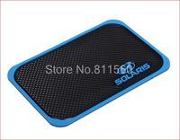 Fit for HYUNDAI Solaris Verna 1999-2015 3D Rubber Cellphone Non-slip Mat Mobilephone mat Car Anti Slip Mat  Interior Mat