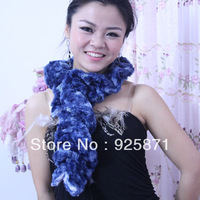 2013 New Style scarf Ring BLUE leopard print scarf 80 cm long spring and autumn cashmere scarf Free Shipping 2002