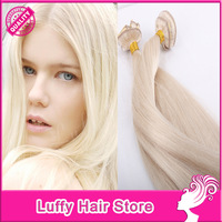 High Quality Brazilian Virgin Human Hair Clip In Hair Extensions 8''-32'' available #613white color