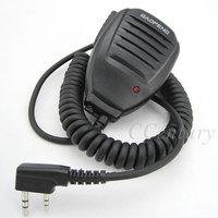 2pcs Original Speaker Mic for BaoFeng Portable CB Radio Walkie Talkie UV 5R UV-5R GT-3 UV-5RE Plus UV-3R+ UV-B5 UV-B6 BF-F8+