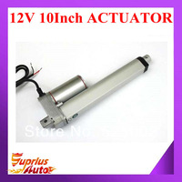 12V actuator linear,250mm/ 10inch stroke, 900N/90KG/198LBS load linear actuator