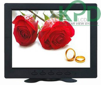 2013 New ! 8 inch lcd cctv monitor with AV VGA BNC input TFT LED panel HIgh Resolution800*600 color  monitor+Free shipping