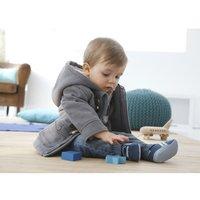 1 pcs Retail!! 2014 New Arrive baby boys overcoat fashion boy's tweed coat New Winter toddler thick jacket Freeshipping CS006
