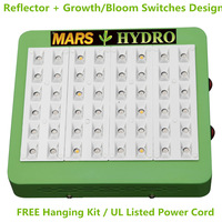 Free shipping!! 150w reflector led grow light best for growing&flowering 3w led grow light