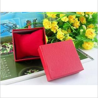 free shipping 2013 Small pillow watch box carton packaging Can not be less than 50 monochromatic color selection