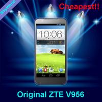Original ZTE V956 Dual SIM Quad-Core RAM 4GB 4.5-inch dual camera Android 4.1 Russia Spainl free shipping
