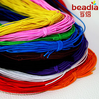 1MM mixed color flat string velvet imitation Leather Cords Elastic elastic ropes Lines Wires DIY FXC001