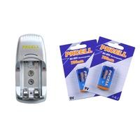 Bttery Charger EU Plug 8124 for AA/AAA/9V NI-MH/Ni-Cd and 9V rechargeable battery Free Shipping 2300mah +900mah +9v 250mah