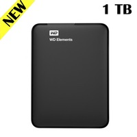 1TB External Hard Drive USB 3.0 HDD Western Digital High Speed SUPERIA