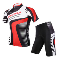 WOLFBIKE Bicycle Clothes Cycling Jersey Bicycle Bike Cycle Jersey Comfortable Breathable Shirts Tops Padded Shorts Tights Pants