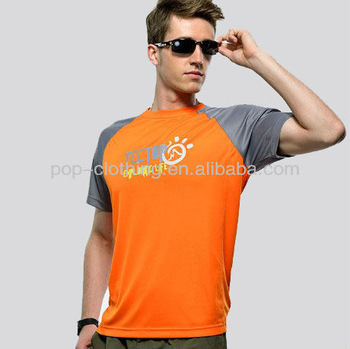 Sales Promotion Summer Outdoor Clothing Fitness Short Sleeve Top Sports Men's High Quality Quick-drying T Shirts free shipping
