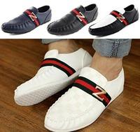 Soft driving shoes leather men loafers mocassin men flat shoes casual Men's Shoes zapatos hombre