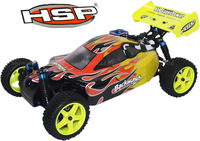 HSP BAJA BACKWASH  1/10 WARHEAD NITRO 4WD 2 SPEED RC CAR 94166 with 2.4G remote control toys
