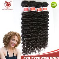 "Wholesale New Arrival 12-30"" 10pcs/lot With Mix Length Virgin Peruvian Hair Kinky Curl Grade 5A Extensions Weaves Free Shipping"