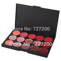 New Professional Elegant Lip Facial Beauty 15 Color Makeup Cosmetic Lip Gloss Makeup Palette Set#21945